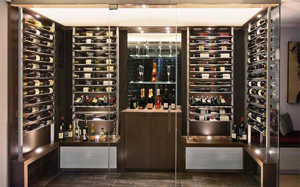 15 Sleek Ideas For Modern Wine Cellars Home Design Lover