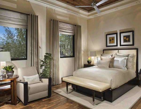 15 Superbly Stunning Bedroom Curtains | Home Design Lover