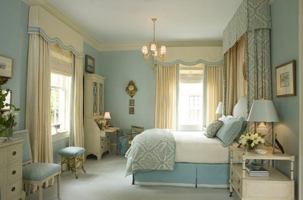 Victorian Bedroom. 15 Gorgeous Blue and Gold Bedroom Designs Fit for Royalty   Home