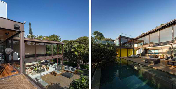 Modern Paradise Beauty of Limantos Residence in Brazil | Home ...
