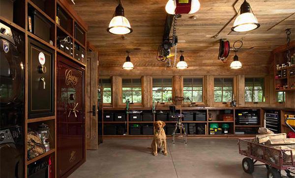 rustic design - Garage Designs Interior Ideas