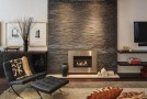 brick modern living