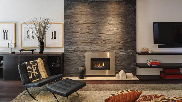 of old brick fireplaces in 15 modern and contemporary living rooms