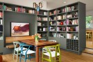 dine bookshelves