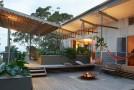gray wooden deck