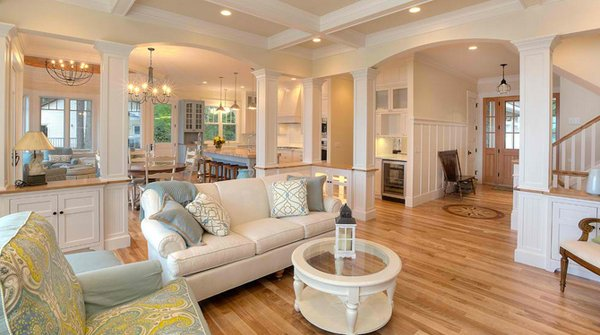 15 close to perfect traditional open living room ideas | home