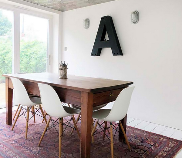 My Home Dining typography