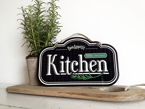 Kitchen Wall Decor Sign