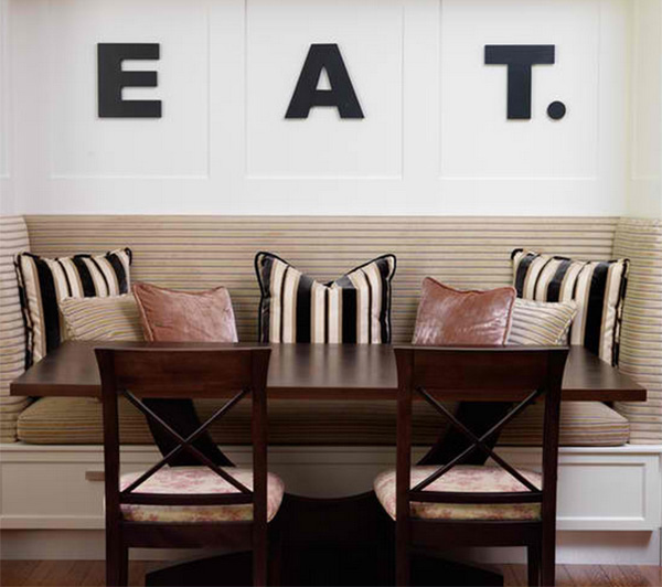 Rosedale Dining Typography idea