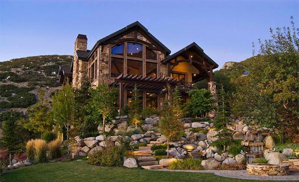 natural landscape. 15 Ideas Showcasing Landscaping for Rocks   Home Design Lover