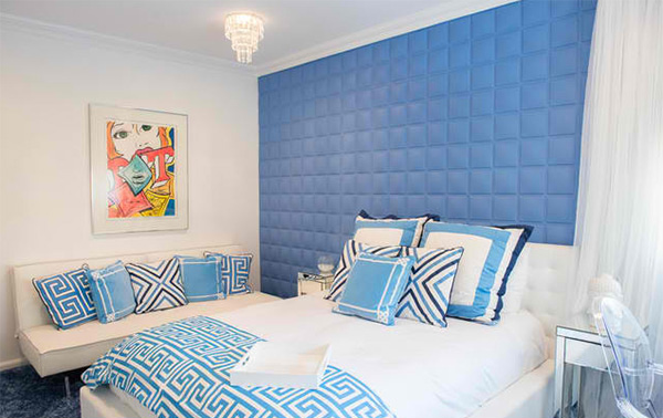 ideas for blue contemporary bedrooms  home design lover,