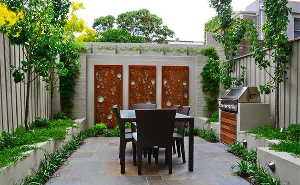 Asian-themed patio designs