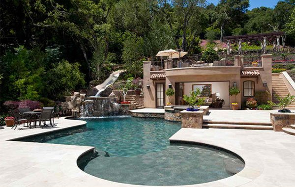 mediterranean pool designs