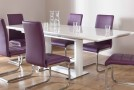 dine purple furniture