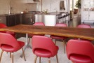 red dining furniture