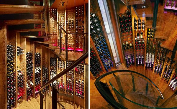 15 space savvy under stairs wine cellar ideas home - Wine cellar designs for small spaces ...