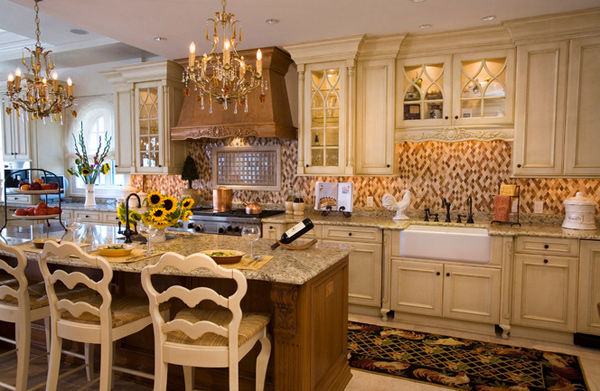 15 Fabulous French Country Kitchen Designs | Home Design Lover
