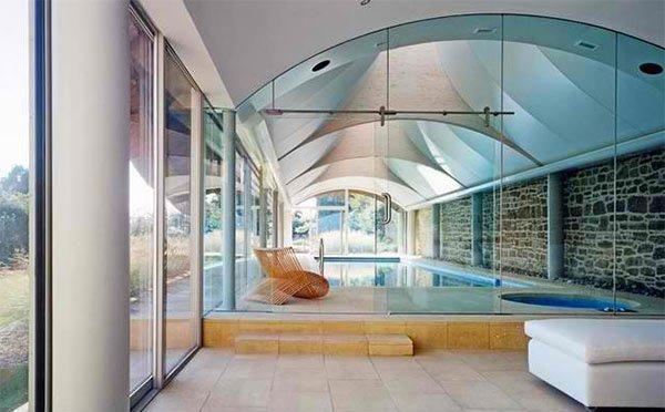 gentle curves ceilings