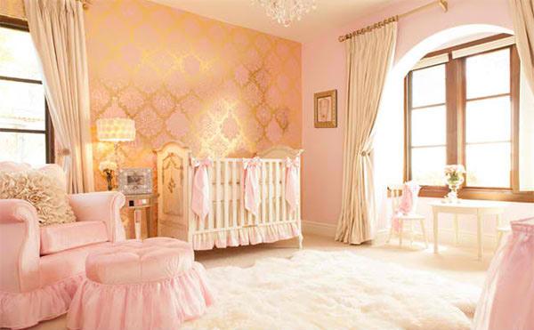 Pink Glamorous Girl S Nursery