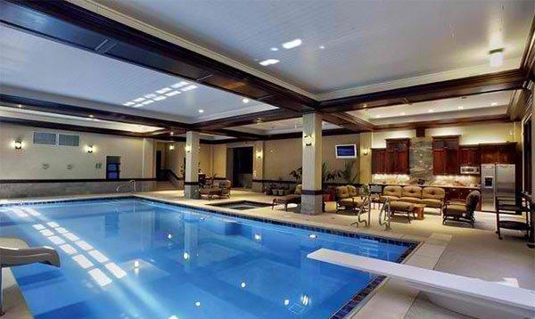 pool living area