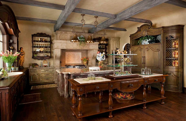 fabulous french country kitchen designs  home design lover,