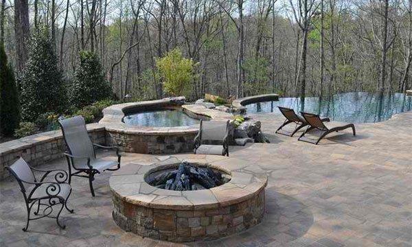 oversized custom fire pit
