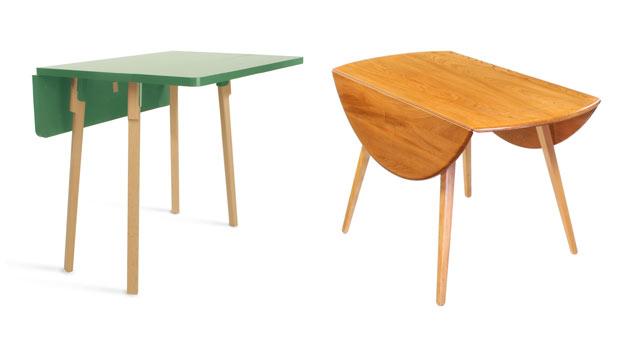 15 Incredible Drop Leaf Folding Tables | Home Design Lover