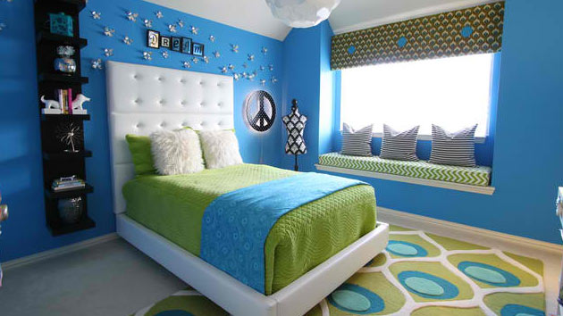 . 15 Killer Blue and Lime Green Design is important   Home Design Lover