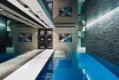 modern indoor pool