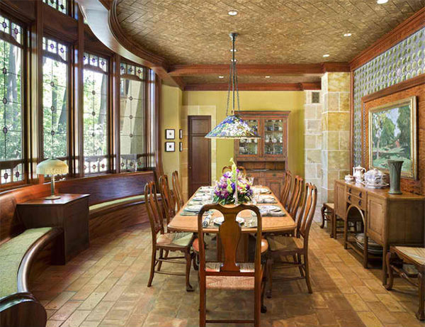 15 Ideas in Designing Dining Rooms with Bay Window | Home Design Lover