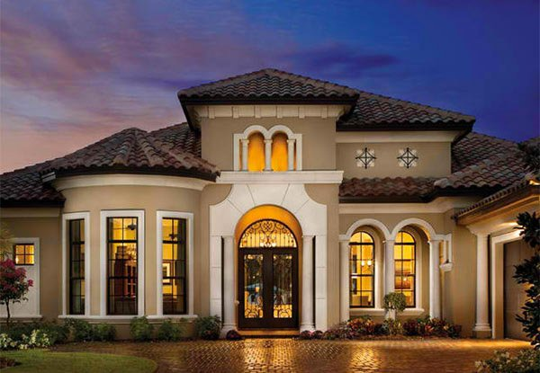 Sophisticated and Classy Mediterranean House Designs   Home    Valencia Mediterranean