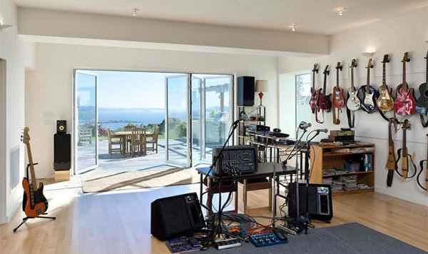 home music rooms - Home Music Studio Design Ideas