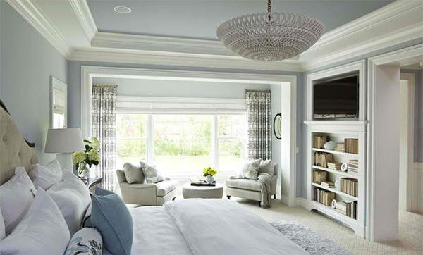 Parkwood Road Residence Master Bedroom. 15 Ideas in Designing a Bedroom with Bookshelves   Home Design Lover