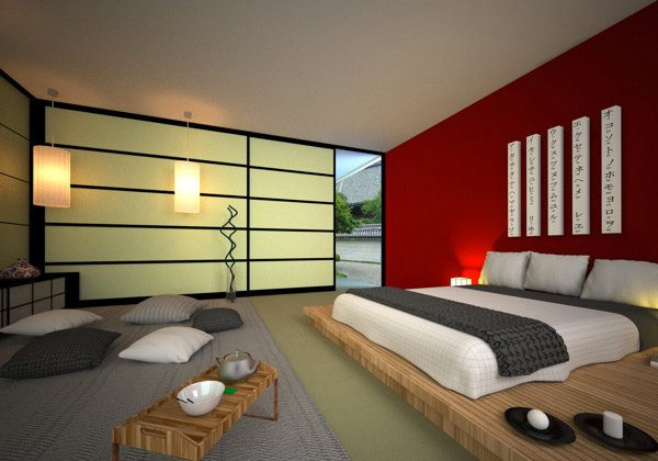 Japanese Style Bedroom. Embrace Culture with these 15 Lovely Japanese Bedroom Designs