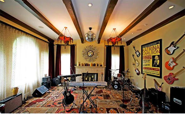 15 design ideas for home music rooms and studios home design lover 15 design ideas for