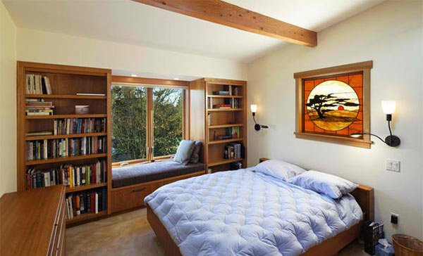 Corvallis Custom Kitchens   Baths. 15 Ideas in Designing a Bedroom with Bookshelves   Home Design Lover