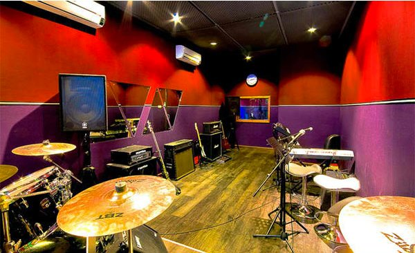 walls design - Home Music Studio Design Ideas