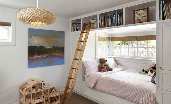 Mill Valley. 15 Ideas in Designing a Bedroom with Bookshelves   Home Design Lover