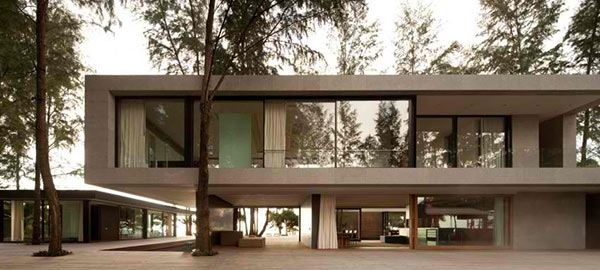 Modern house plans thailand House and home design