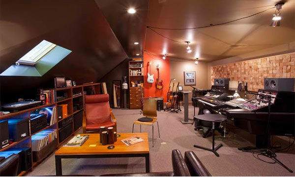 home music studio email save photo attic - Home Music Studio Design Ideas