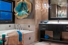 black cabinet bath