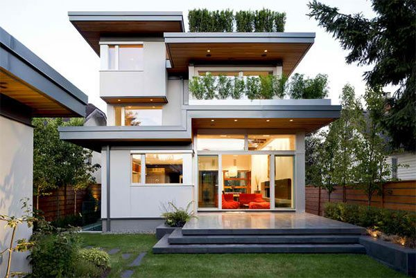 contemporary exterior natural balance homes - Contemporary Home Design Ideas