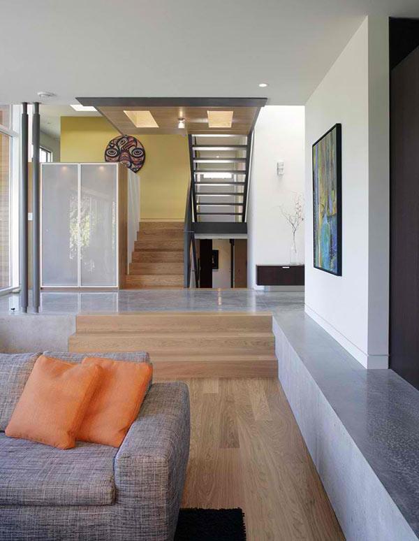 wood concrete themes