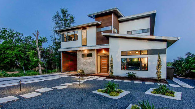 contemporary house