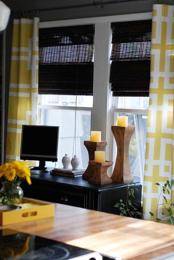 DIY No-Sew Curtains