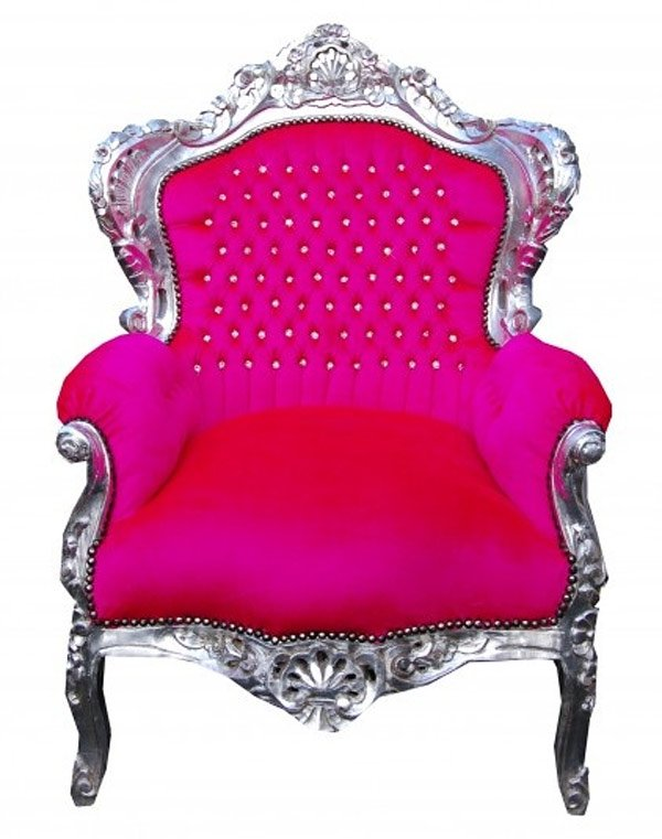 vintage children's throne chair