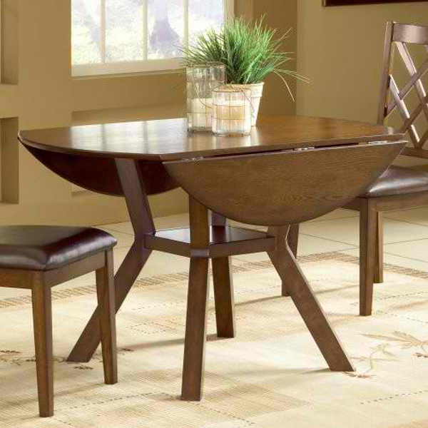20 Pretty Wooden Oval Drop Leaf Dining TablesHome Design Lover