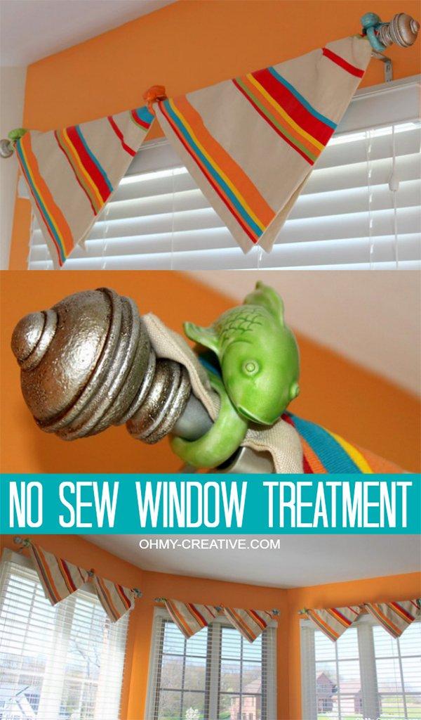 No Sew Window Repair