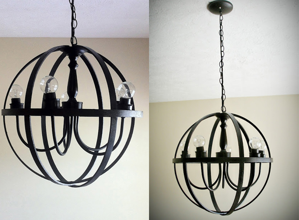 22 DIY Chandeliers That Illuminate with Beauty – Diy Orb Chandelier