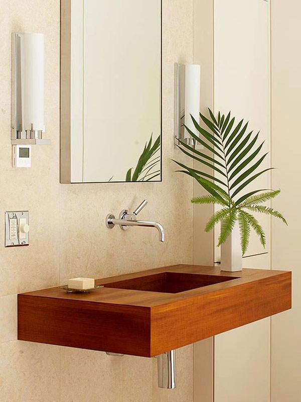 floating wood sinks. 20 Samples of Classic Bathroom Sinks   Home Design Lover